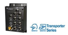 Промышленный EN50155 коммутатор Ethernet