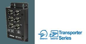Промышленный EN50155 PoE коммутатор Ethernet
